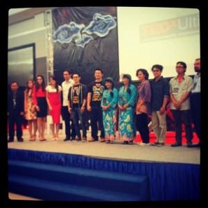 Aik with mas Ninok, Mira Lesmana, Riri Riza, Adie Ms, Ibu Kembar, etc.